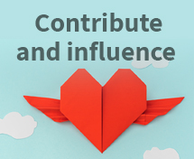 Contribute and influence